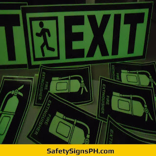 Glow in the Dark Exit Signs Philippines