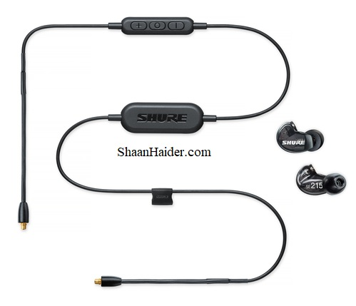 Shure SE215 Wireless Earphones : Hands-on Review