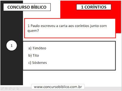 Perguntas Bíblicas Corintios
