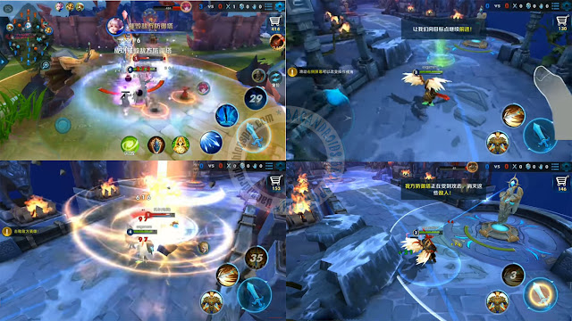 endless hegemony Apk 3D moba Android
