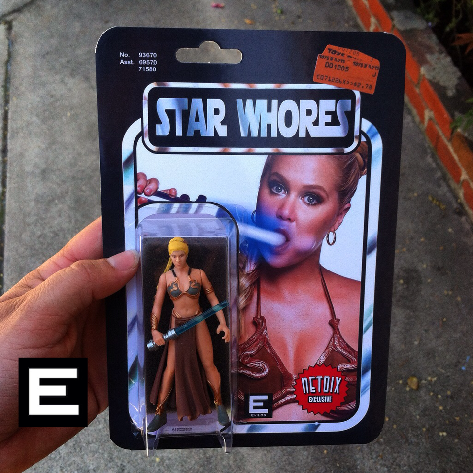 Star Whores Amy Schumer Custom Action Figure By Evilos