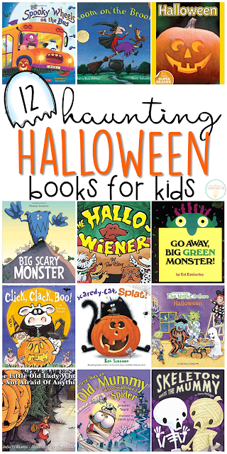 If you are planning a Halloween theme for your classroom or homeschool this fall, you'll definitely want to check out these great Halloween picture books! Lots of great titles and ideas for incorporating comprehension and writing skills too.