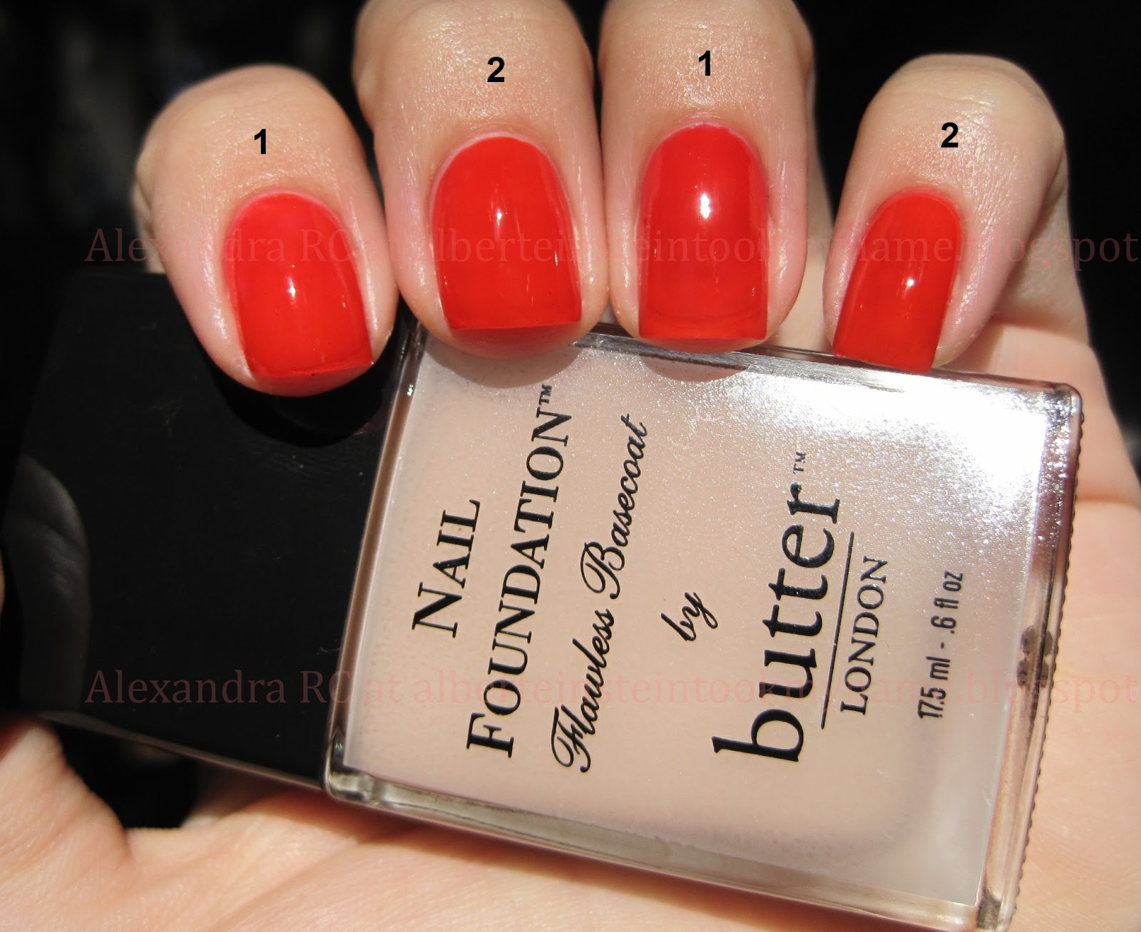 Butter London Nail Foundation - Sparkly Vernis