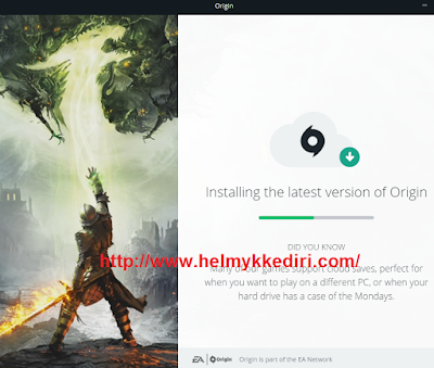 Cara download dan install game origin3