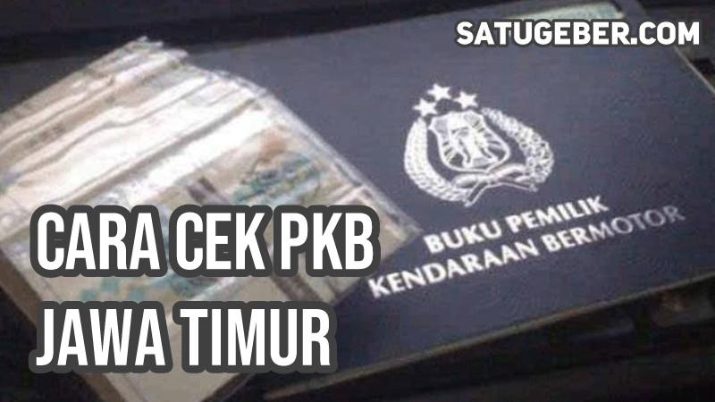 gambar cara cek pajak kendaraan bermotor Jatim online
