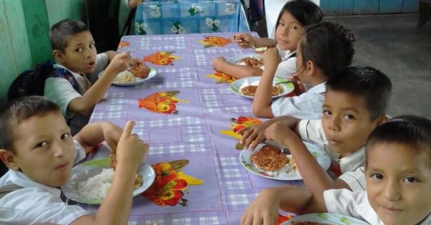 Qali Warma reparte más de 4.5 millones de desayunos y almuerzos diarios a escolares