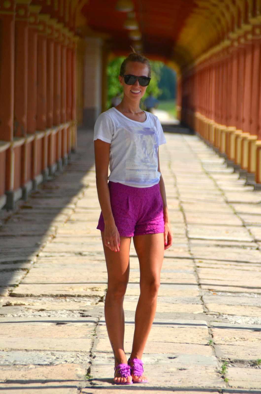 haapsalu railway statio purple asos shorts