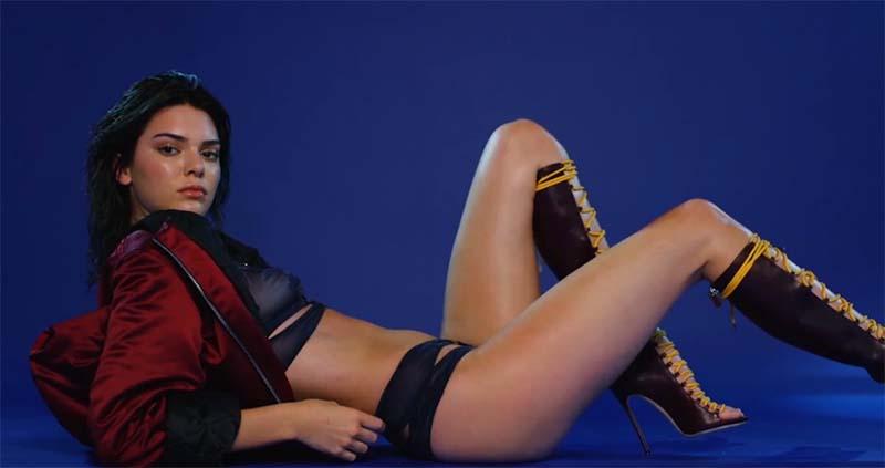 Kendall Jenner par Hype Williams pour le Calendrier de l'Avent de LOVE magazine