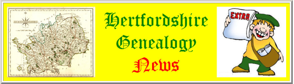 Hertfordshire Genealogy News