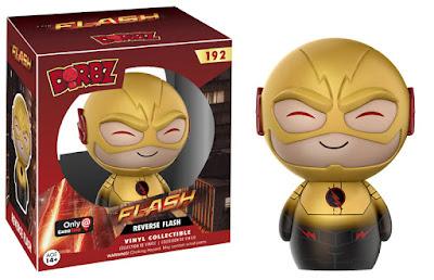 The Flash & Arrow TV Series Dorbz Vinyl Figures by Funko – GameStop Exclusive Reverse Flash