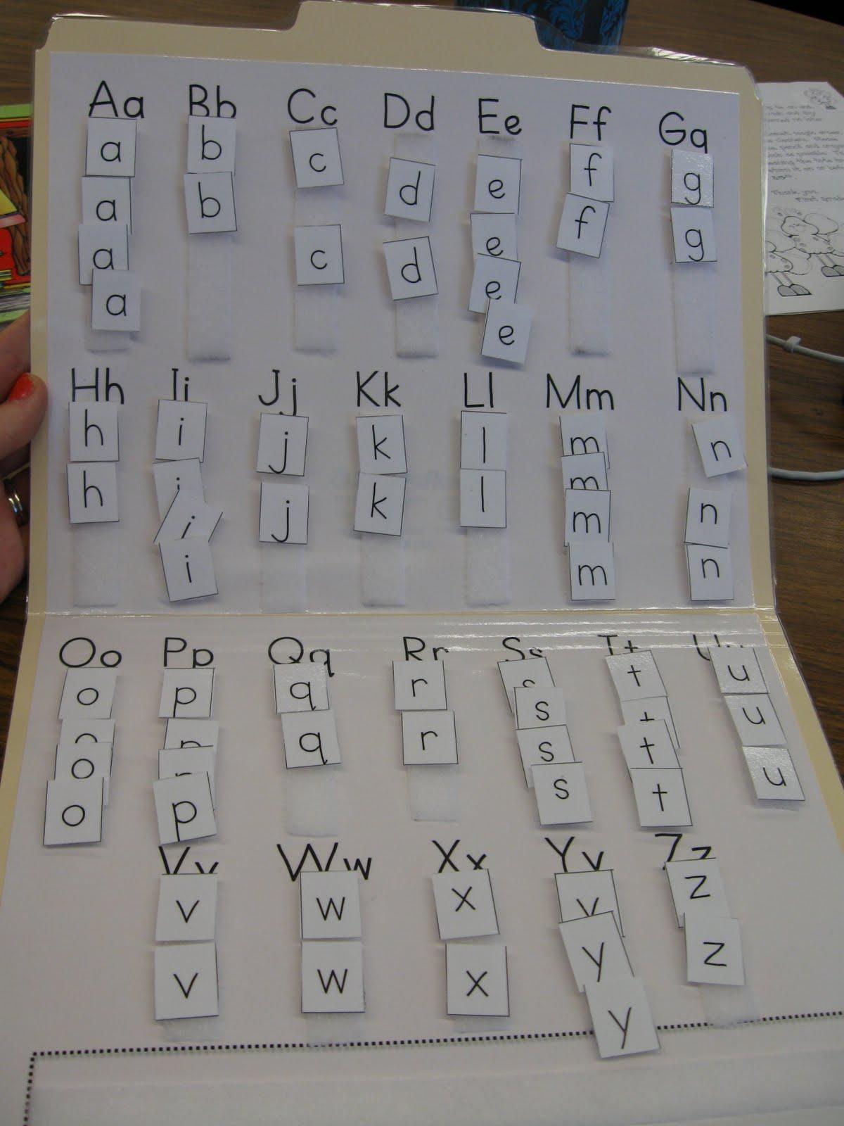What The Teacher Wants Making Words Folder
