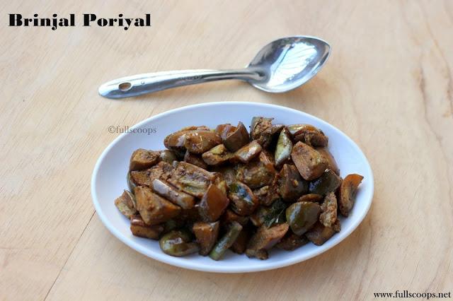 Brinjal Poriyal
