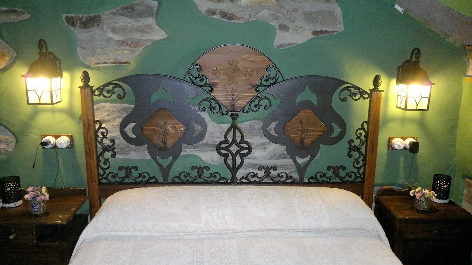 Con hierro y madera cabeceros de cama - Cabeceros de hierro ...