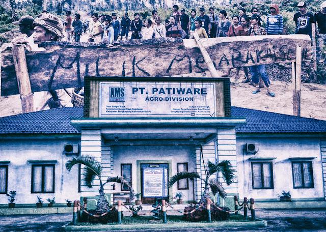 Konflik Lahan, PT. Patiware v.s Masyarakat Desa Rukmajaya Kubu Raya