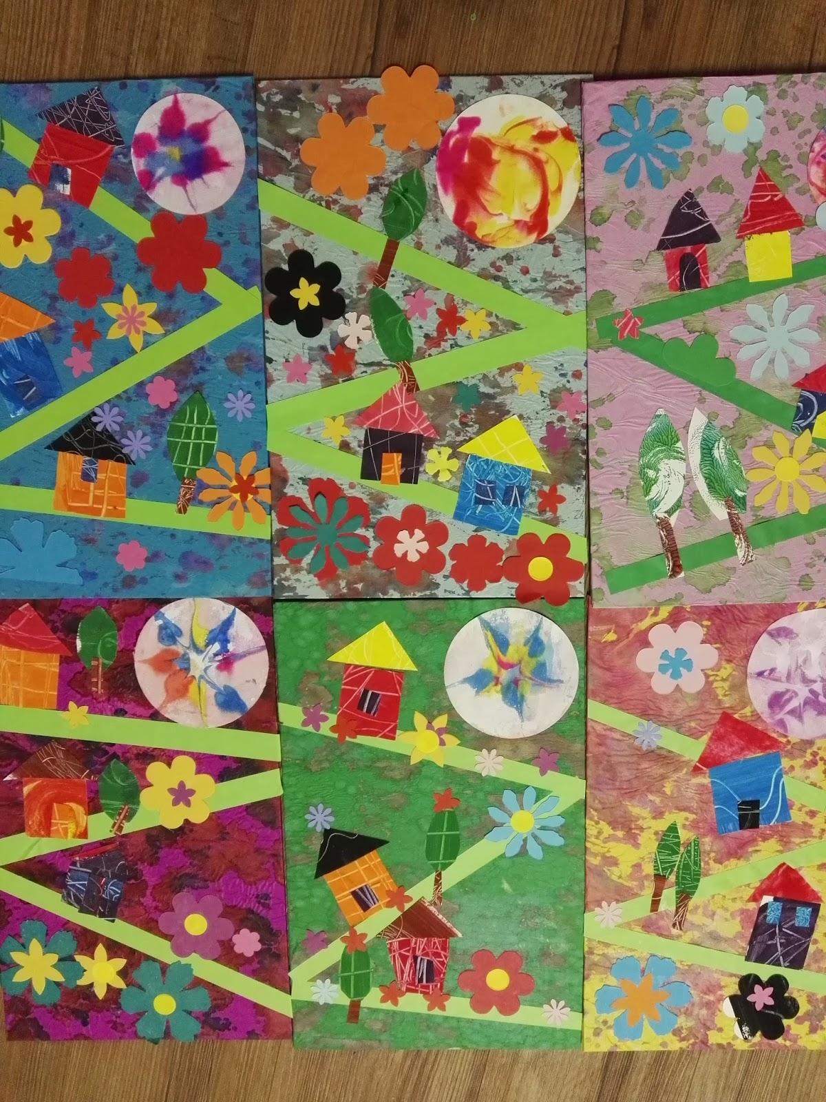 Creare a scuola scuola infanzia brogliano progetto collage - Libri di scuola materna stampabili gratuitamente ...