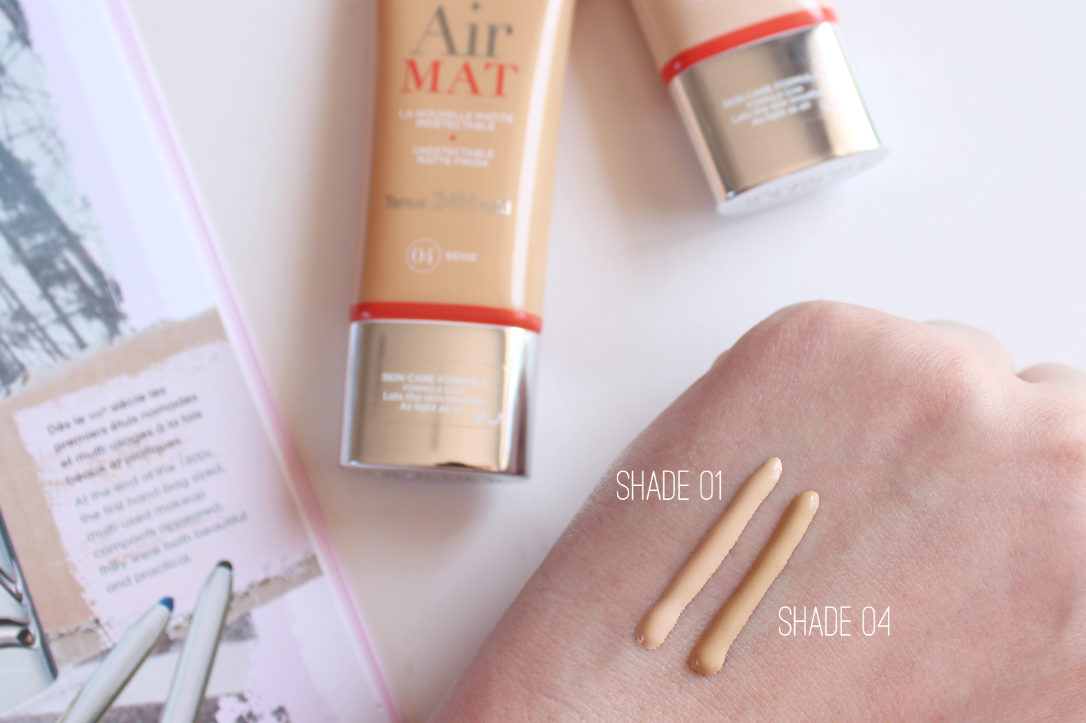 BOURJOIS PARIS | Upcoming Releases + First Impressions - Air Mat Foundation Shade 01 + 04 - CassandraMyee