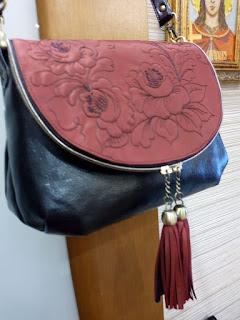 сумочка с набивным рисунком