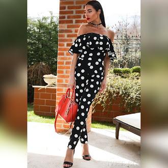 Γυναικεία μαύρη ολόσωμη φόρμα SIGMA