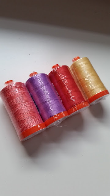 Aurifil quilting thread on sale at Craftsy