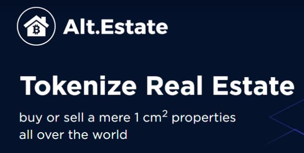 alt estate Bisnis Real Estate berbasis Blockchain