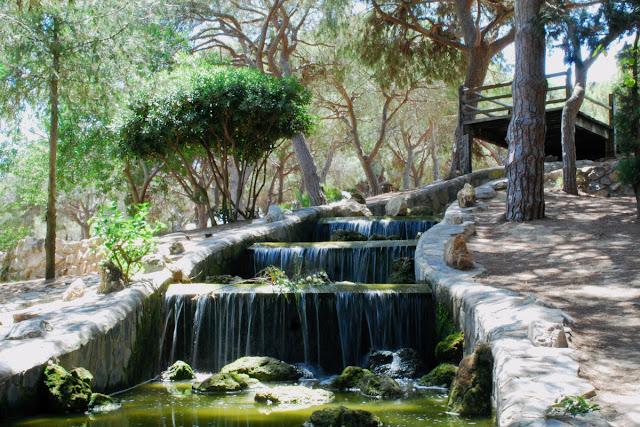 Waterfall - Parque Reina Sofia - Guardamar del Segura, Costa Blanca