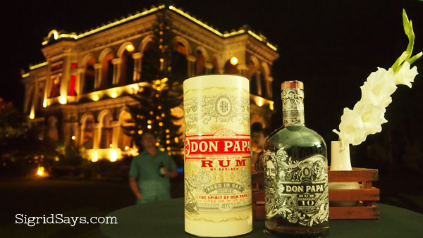 Don Papa Rum at The Ruins - Bacolod blogger - Bacolod pasalubong - cocktail drinks - The Ruins Talisay - Negros Occidental tourist destinations