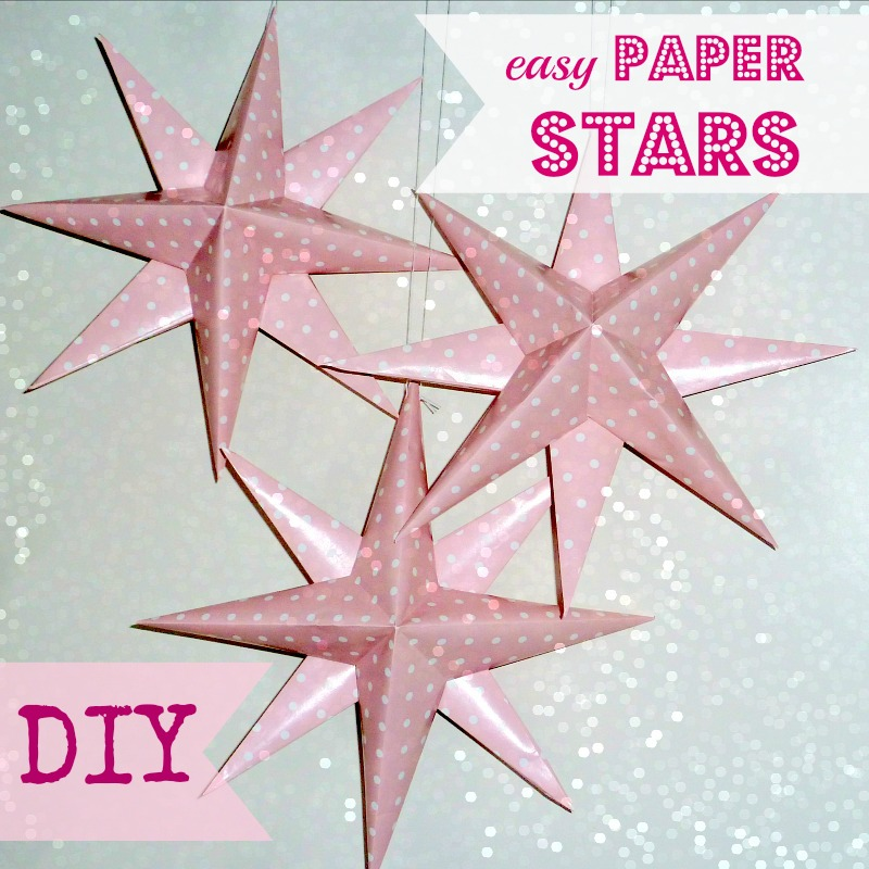 How to Make Easy DIY Paper Stars