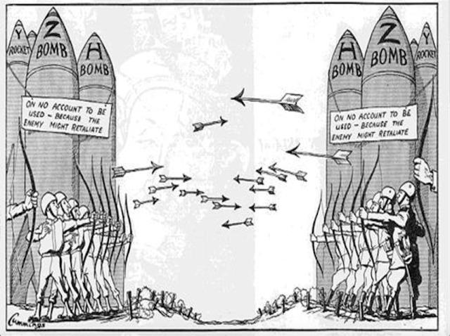 Vũ khí hạt nhân và sự xuất hiện của bom nguyên tử