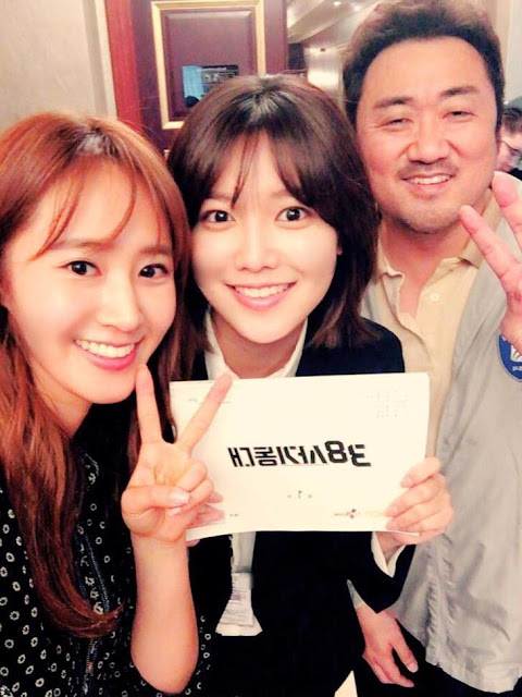 SNSD Yuri and SooYoung at SQUAD 38 set
