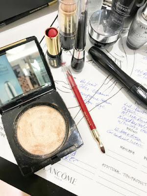 Lancome makeup, dillard's, Wolfechase mall