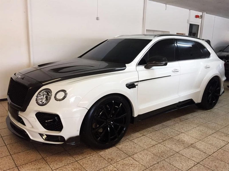 Panda panda panda: Obafemi Martins debuts 191 million naira Bentley Bentayga