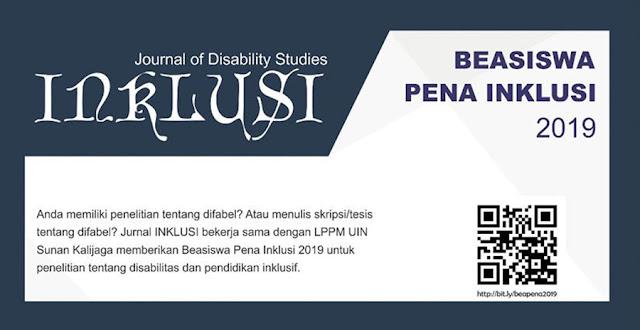 Beasiswa Untuk Para Peneliti Penyandang Disabilitas 2019 Mahasiwa