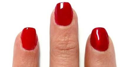 Zoya red polish