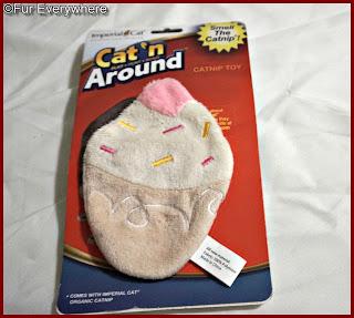 Imperial Cat Cat 'n Around cupcake catnip toy.