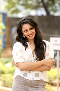 Actress Malavika Nair Stills at Orey Bujjiga Movie Press Meet
