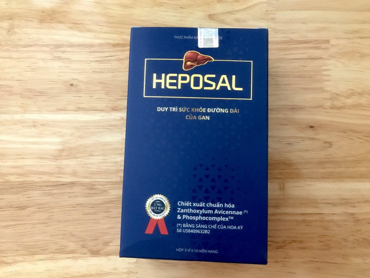 heposal có tốt không  heposal giá bao nhiêu