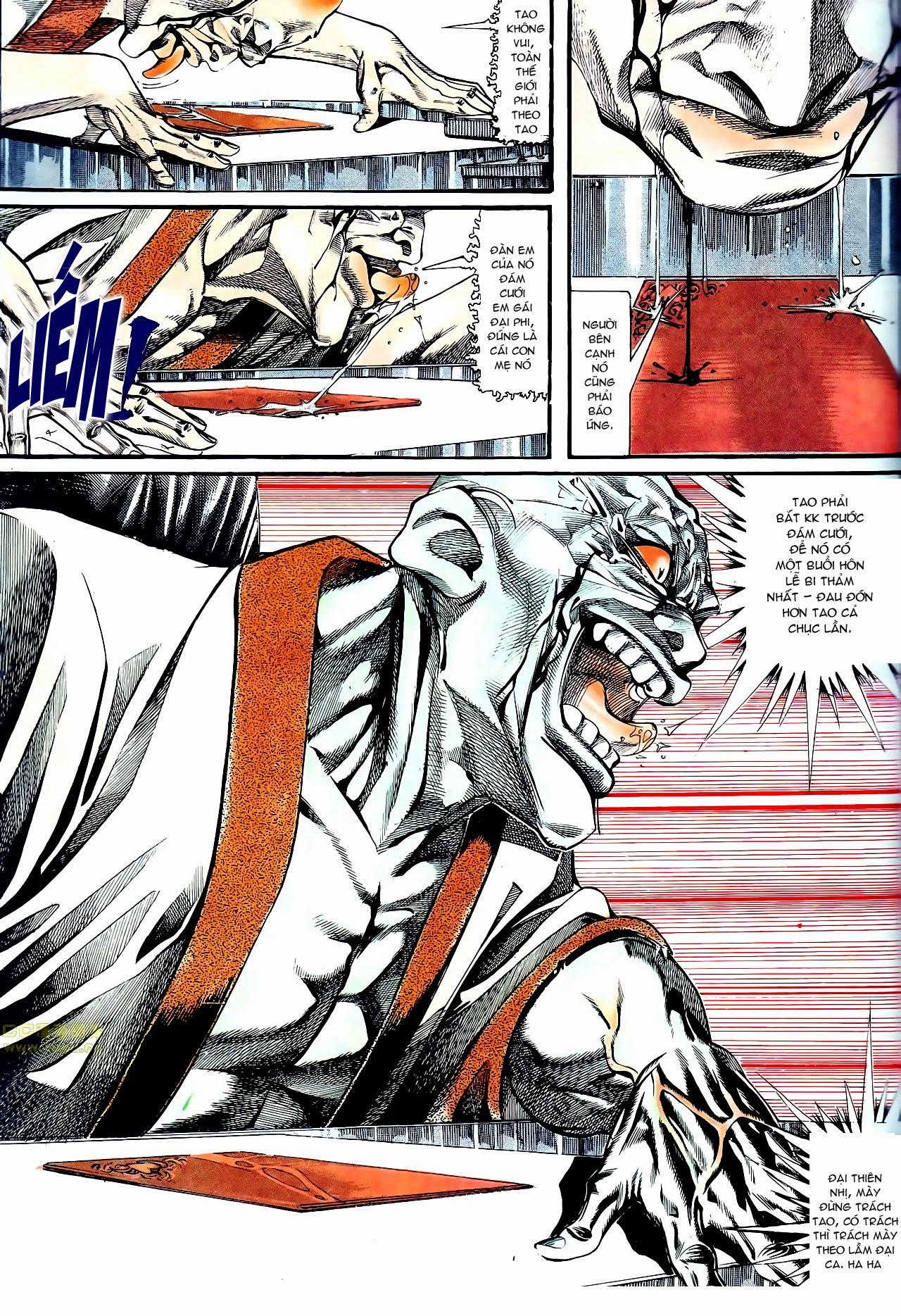 Người Trong Giang Hồ chapter 135: cạm bẫy rình rập trang 5