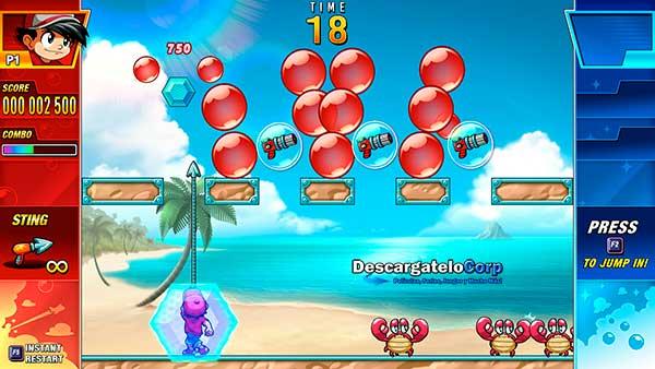 Pang Adventures Español Juego PC