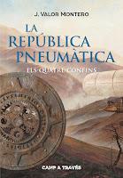 Portada de La República Pneumàtica II. Els Quatre Confins de J. Valor Montero