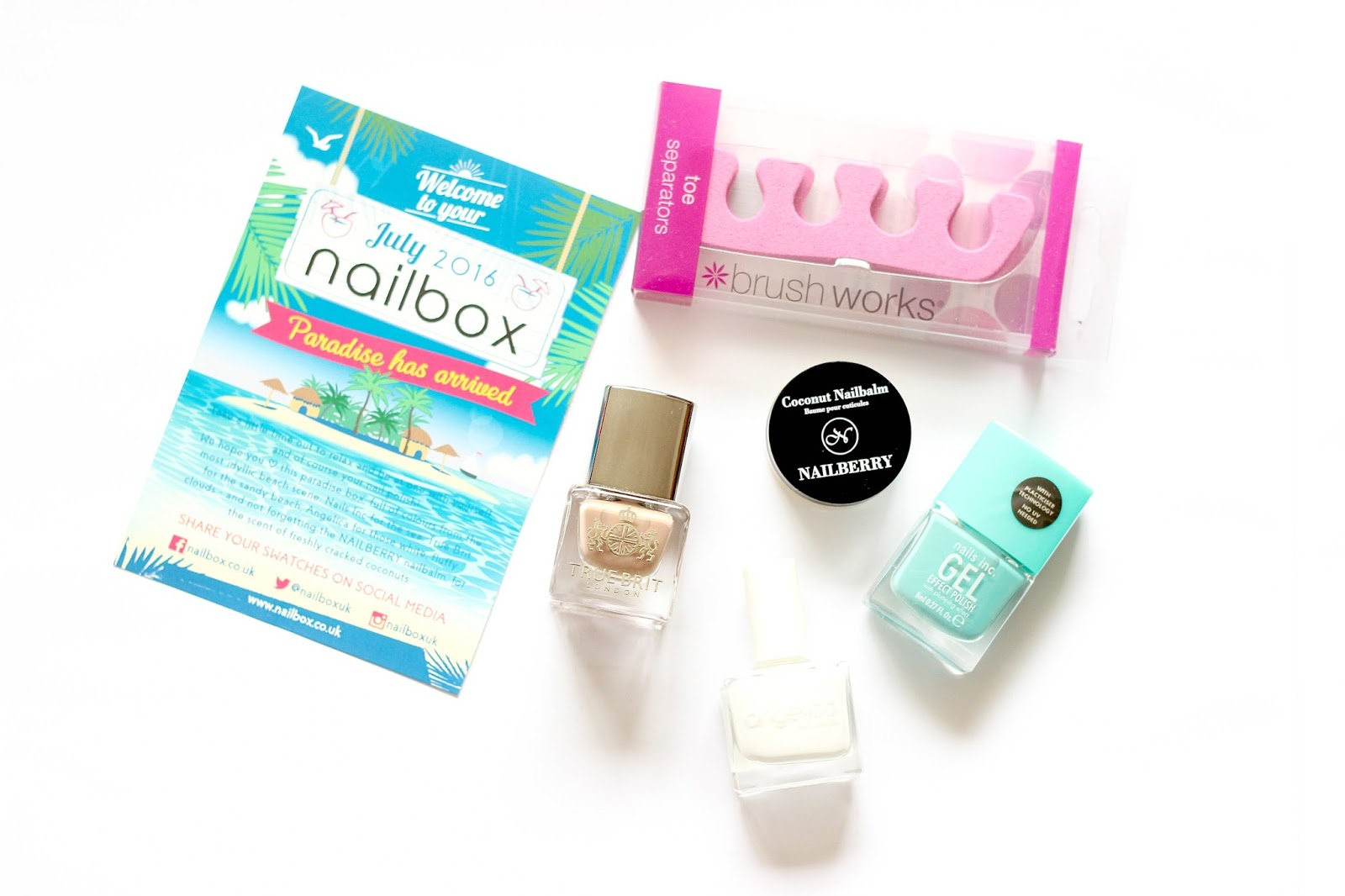 July 2016 nailbox review
