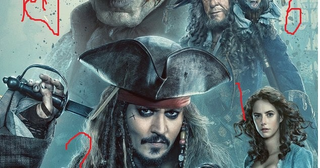 Pirates of the caribbean hindi dubbed all part (1 2 3 4 5) Free Download