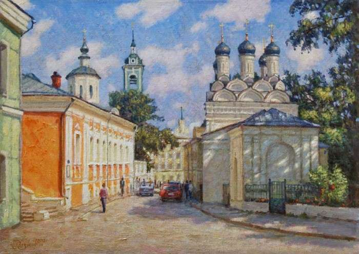 Пейзажи Москвы. Игорь Разживин