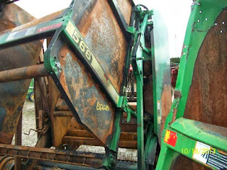 Monday salvage update - tractor, combine, ag equip