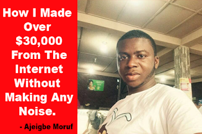 How Ajeigbe Moruf Made Over $30,000 (₦10Million) From Fiverr - PeoplesGist Interview