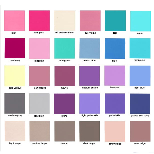 цвета для летнего цветотипа