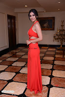 Alankrita new actress in Red Deep Neck Gown Stunning Pics ~  Exclusive Galleries 010.jpg