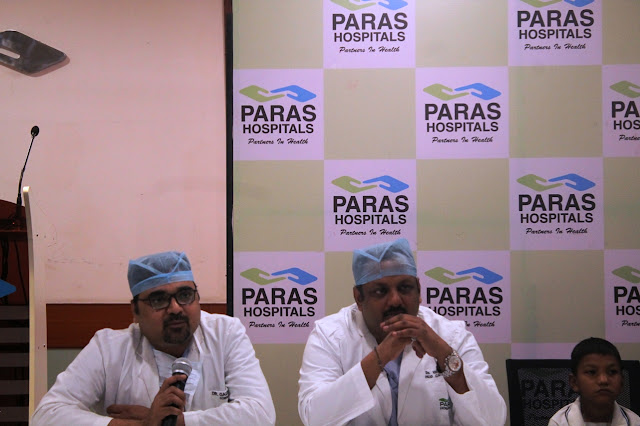 9 year old boy given a 'gift of life' by doctors at Paras Hospitals, Gurgaon through Ross Procedure applied to treat his rare congenital heart condition
