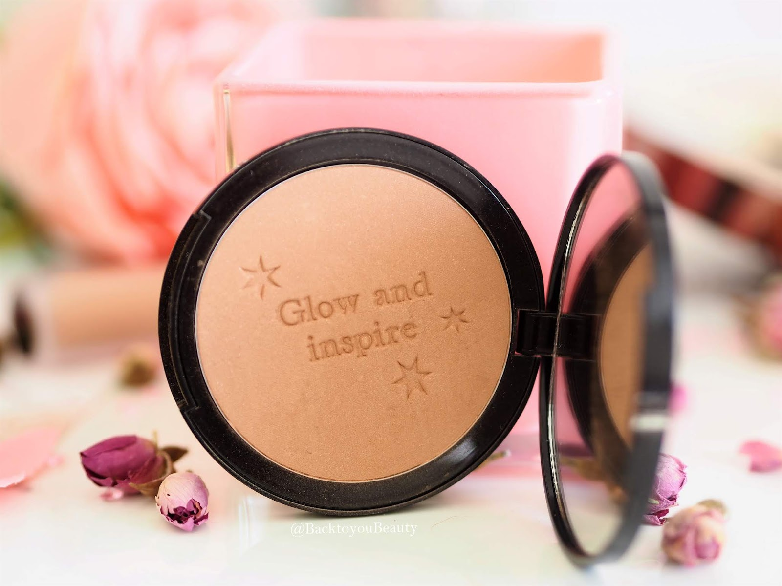 Savannah Miller x Bagsy Bronzed Brilliance Shimmer powder
