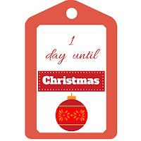 Christmas countdown calendar free printable