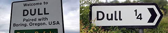 Dull - Scotland